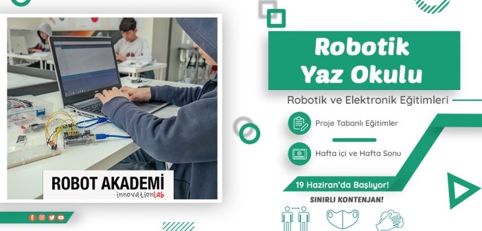 11-14 Yaş Arası Robotik ve Kodlama Yaz Okulu